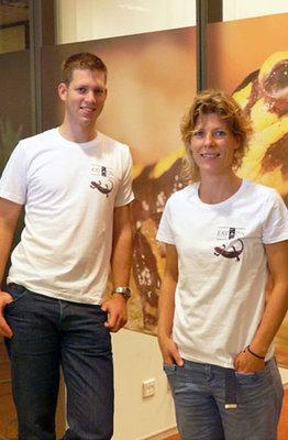 SOS Vuursalamander T-shirt